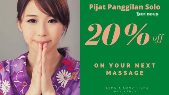 Pijat Panggilan Solo, Massage Panggilan Solo Kota Jawa Tengah