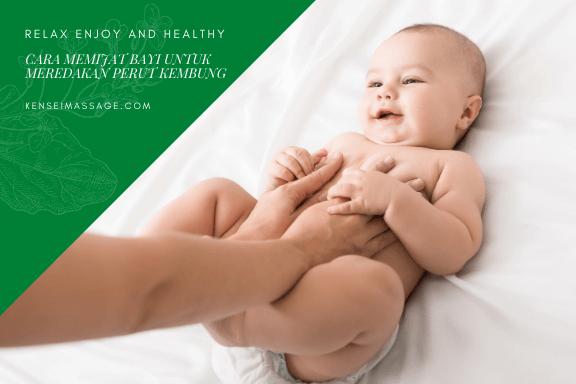 Cara Memijat Bayi Untuk Meredakan Perut Kembung