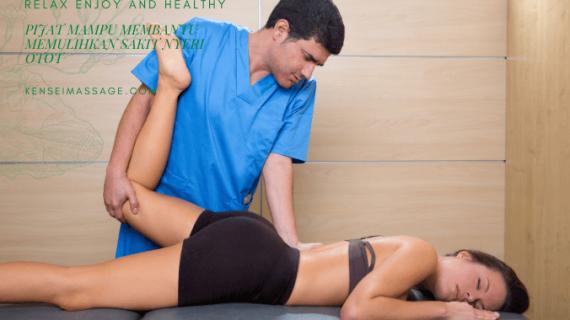 Pijat Mampu Membantu Memulihkan Sakit Nyeri Otot