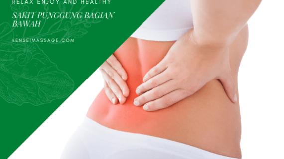 Pijat Membantu Mengobati Sakit Punggung Bagian Bawah
